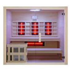 Sauna hybrid combo finlandais et infrarouge Béa 200