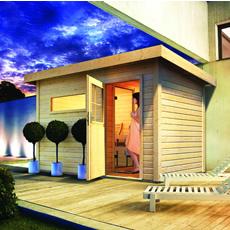 Sauna vapeur d'exterieur Zen 1