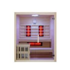 Sauna hybrid combo finlandais et infrarouge Béa 150