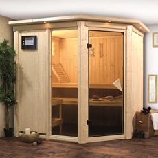 Sauna en bois lambris Flore 2 68 mm