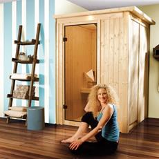 Sauna en bois lambris Léna 68 mm
