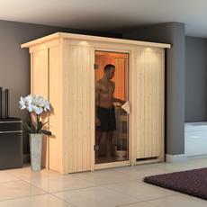 Sauna en bois lambris Valérie 68 mm